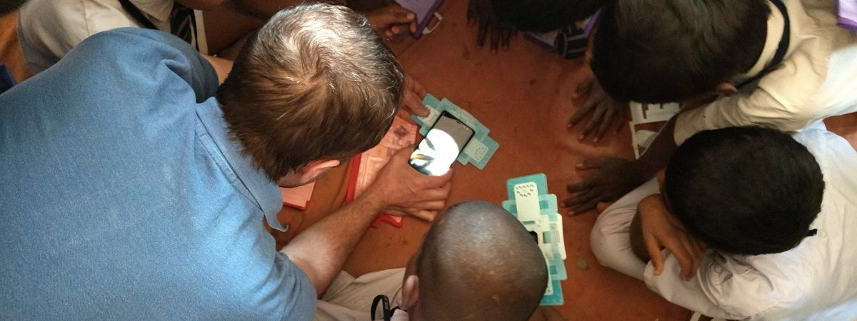 Magnify your curiosity through a Foldscope!